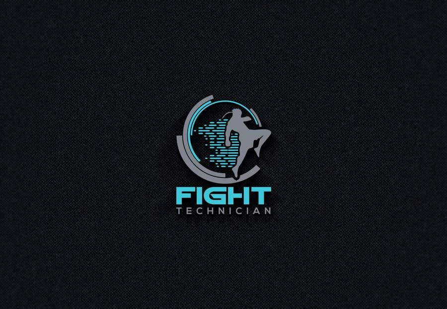 Penyertaan Peraduan #77 untuk Tech Themed Fight Blog Logo Design