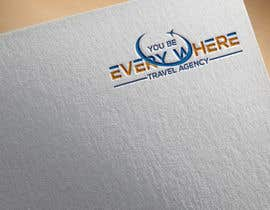#21 cho Design a logo for youbeeverywhere travel agency bởi DesignInverter