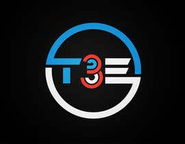 #34 for Logo with word: T3E using the following colors: white, red, light blue by safiqul2006