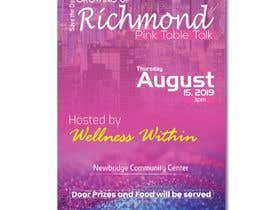 #38 for Pink Table Talk Flyer by saifulalamtxt