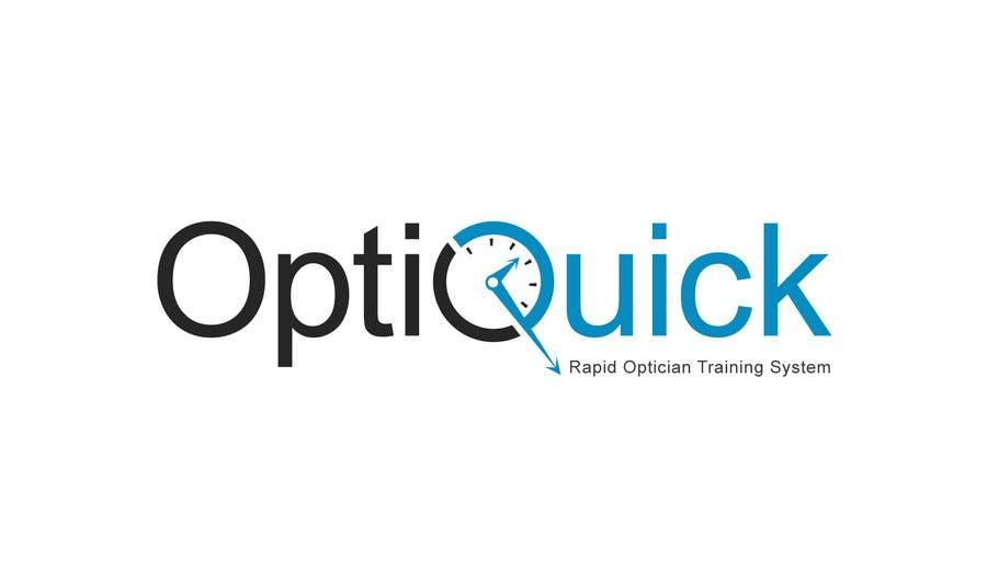 Penyertaan Peraduan #21 untuk Logo Design for OptiQuick - Rapid Optician Training System