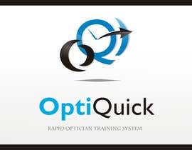 #54 para Logo Design for OptiQuick - Rapid Optician Training System por paramiginjr63