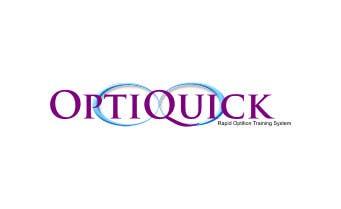 Penyertaan Peraduan #28 untuk Logo Design for OptiQuick - Rapid Optician Training System