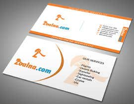 mdrony33325 tarafından Business card for travel services  company için no 23