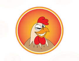 #10 cho I need a chicken in a circle winking with a military cheeky smile bởi RJZcreation