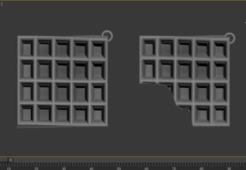 Penyertaan Peraduan #5 untuk Design 3D models for keychains
