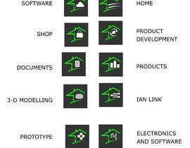 #5 for Icon / Pictogram Design of 10 categories by davutgonen