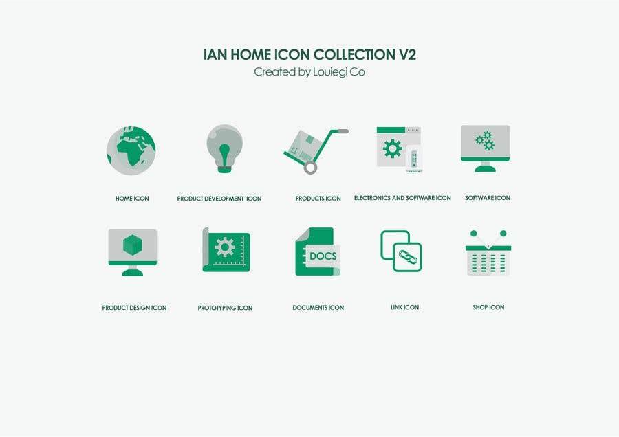 Proposition n°12 du concours Icon / Pictogram Design of 10 categories
