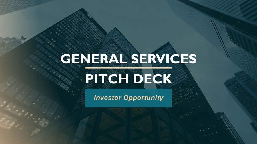 Penyertaan Peraduan #4 untuk Professional business PowerPoint template( pitch deck slides)