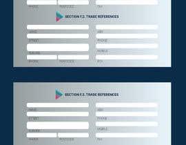 #40 for Graphic Design Application Form af saurov2012urov