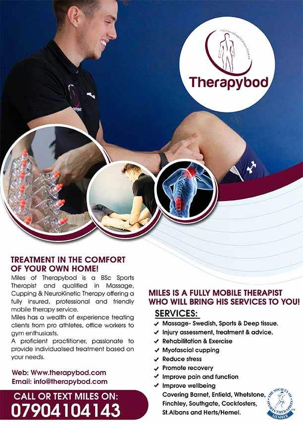 Contest Entry #30 for Flyer needed for therapy/massage business. High quality design and print clear.