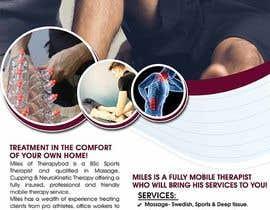 Nro 44 kilpailuun Flyer needed for therapy/massage business. High quality design and print clear. käyttäjältä maidang34