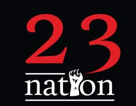 #34 for I need 'nation' in white writing sloped though the number 23 by mehedihasan33591