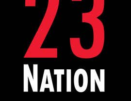 #31 for I need 'nation' in white writing sloped though the number 23 by absamad21