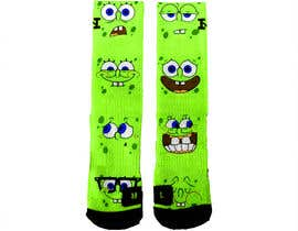 #13 for Create a fun sock design to match shoe af luphy