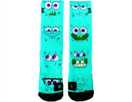 #15 for Create a fun sock design to match shoe af luphy