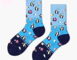#17 cho Create a fun sock design to match shoe bởi Arghya1199