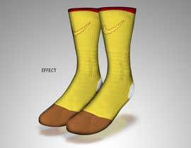 #7 for Create a fun sock design to match shoe af sajeebhasan177