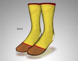 #8 cho Create a fun sock design to match shoe bởi sajeebhasan177