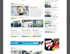 #2 for Website: Blog with user submission, and media embed by hosnearasharif