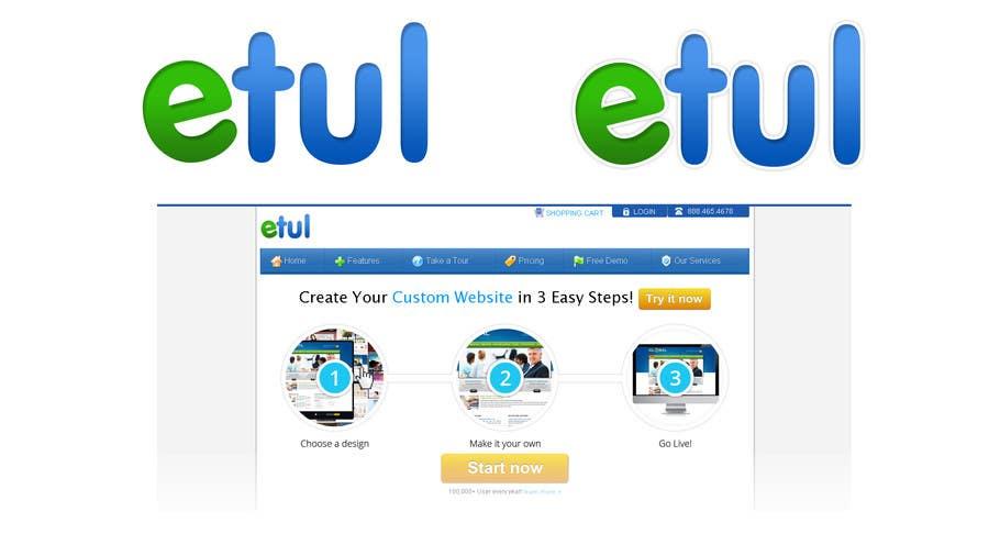 Bài tham dự cuộc thi #                                        10                                      cho                                         Logo Design for etul