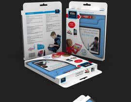 #13 untuk Packaging Design for Shockproof Kids iPad Case oleh midget