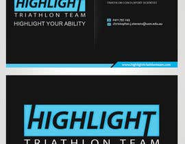 #29 para Business Card Design for Highlight Triathlon Team por sulemankhan2010
