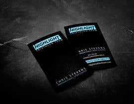 #64 para Business Card Design for Highlight Triathlon Team por nummell