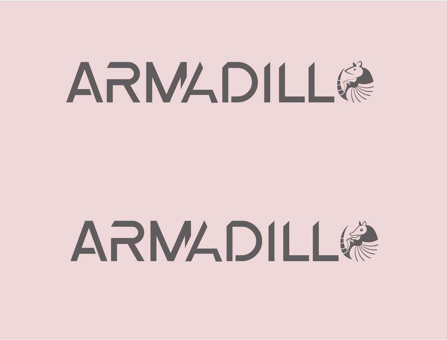 Penyertaan Peraduan #530 untuk Armadillo Logo