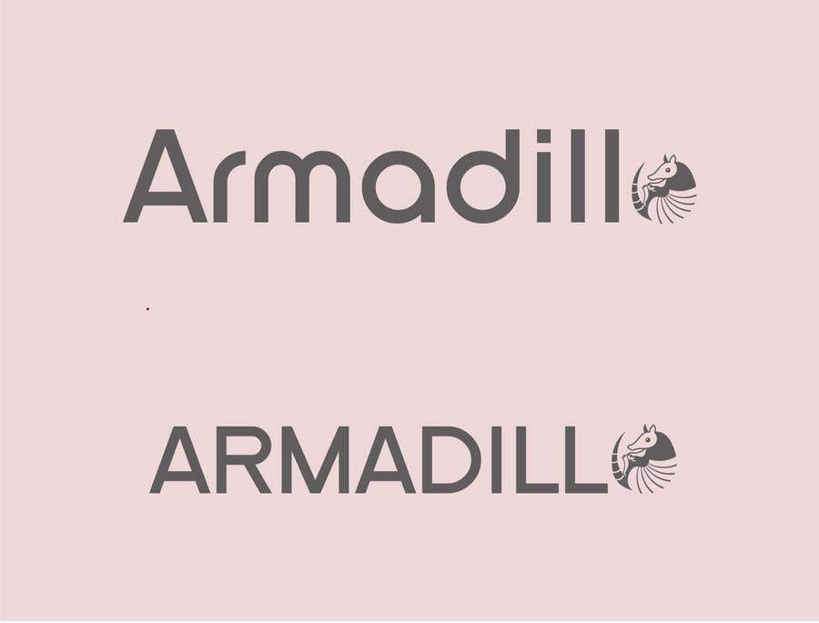 Penyertaan Peraduan #540 untuk Armadillo Logo