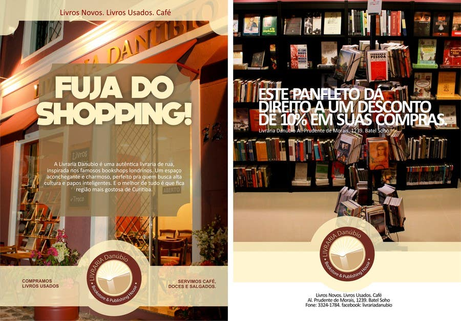 Proposition n°2 du concours Flyer Design for Bookshop