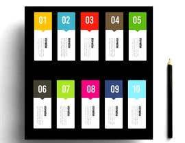 nº 71 pour Design  Graphics of Book and Chapters for a Desktop UI par kashmirmzd60