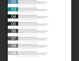 nº 21 pour Design  Graphics of Book and Chapters for a Desktop UI par ChiemiDesigns