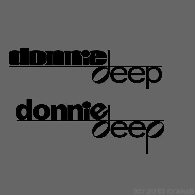 Inscrição nº                                         29                                      do Concurso para                                         Logo Design for a house DJ/Producer named DONNIE DEEP