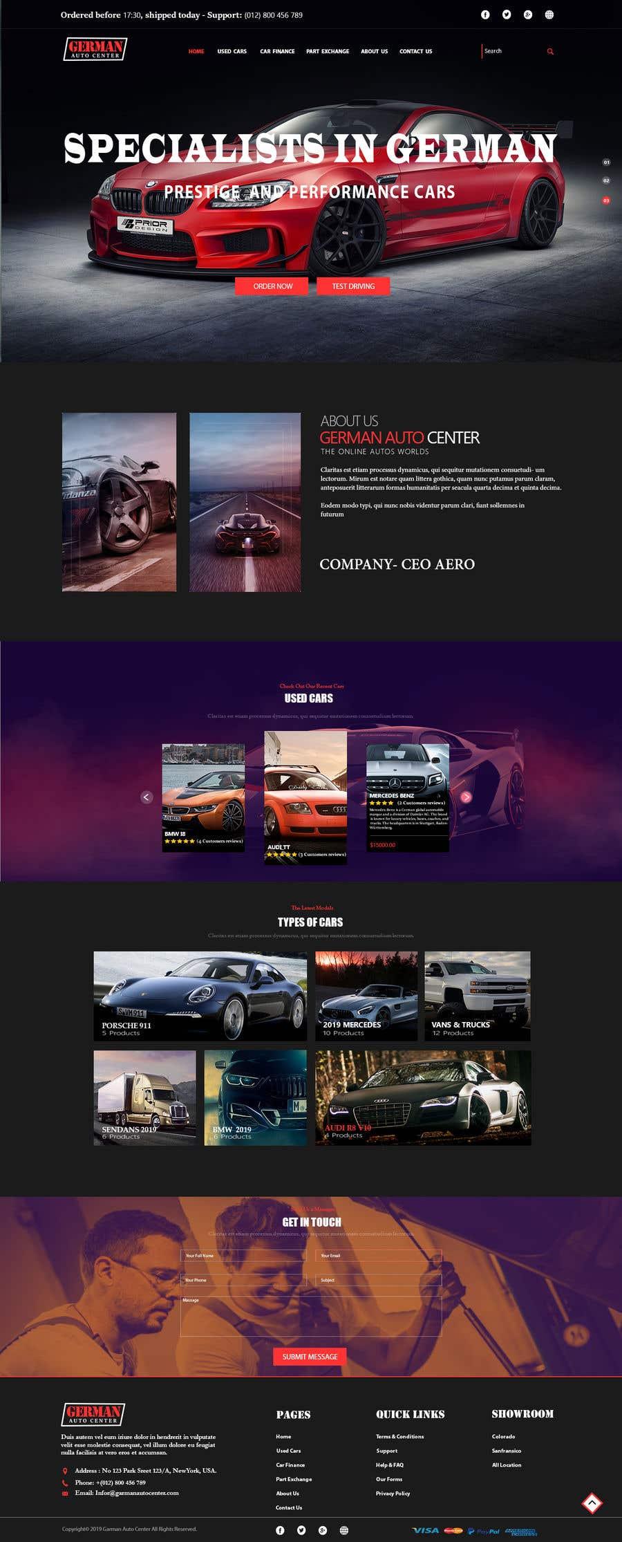 Used Car Dealer Fees >> Entry 140 By Ekramul66 For Used Car Dealer Website Freelancer