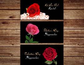 #69 untuk 8 banners for flowershop oleh SarahDar