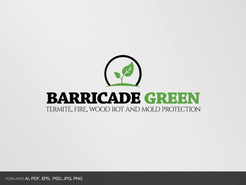 Kilpailutyö #                                        59                                      kilpailussa                                         Design a Logo for BarricadeGreen