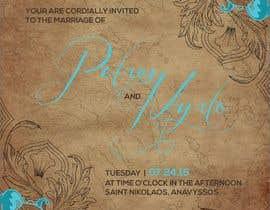 #74 для Design a Wedding Invitation от santosrodelio