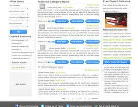 nº 16 pour Design one Search Results homepage par rana60