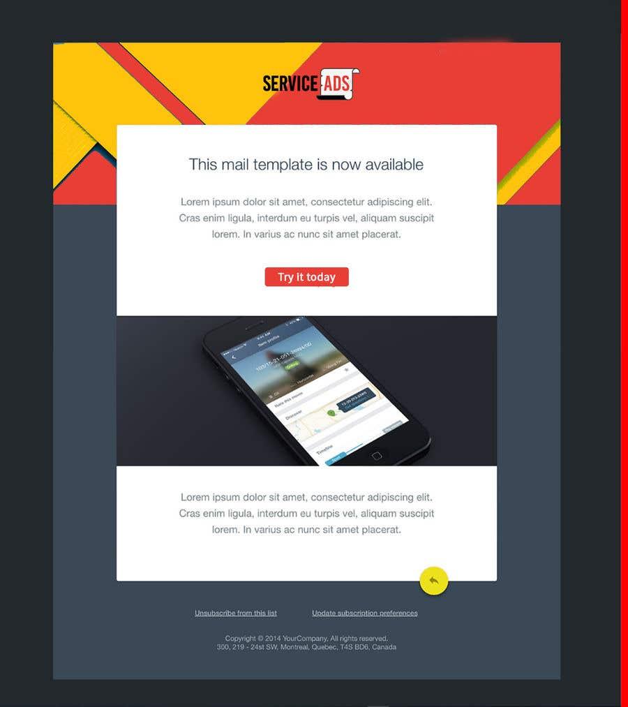 Konkurrenceindlæg #1 for Design us Email Templates