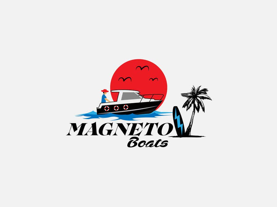 Penyertaan Peraduan #168 untuk Electric Surf boat logo design
