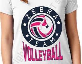 nº 34 pour Zebra Volleyball Image for Tshirt par AformatStudio