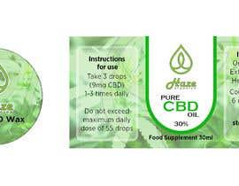 #6 untuk 2 Packaging templates for CBD Company oleh Naseem065
