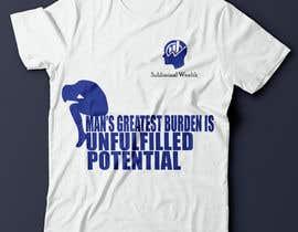 #8 para Design me a t-shirt for Subliminal Wealth por mohamedghida3