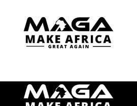 #234 untuk Make Africa Great Again (MAGA) - Logo Graphic Design oleh hannanget