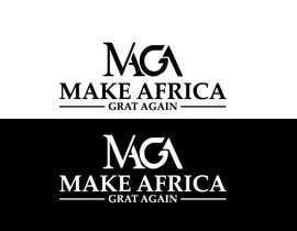 #200 untuk Make Africa Great Again (MAGA) - Logo Graphic Design oleh osiur120
