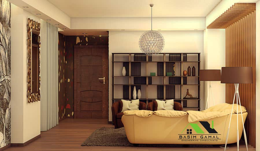 Entry 14 By Besogamal001122 For Small Office Design For Rooms Freelancer