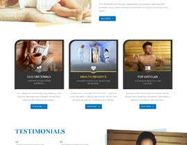 #19 for New Website Home Page Design by saidesigner87