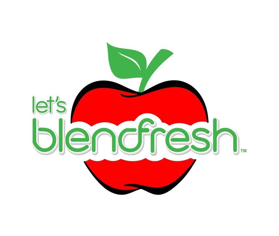 Bài tham dự cuộc thi #                                        27                                      cho                                         Redesign a Logo for Let's Blend Fresh
