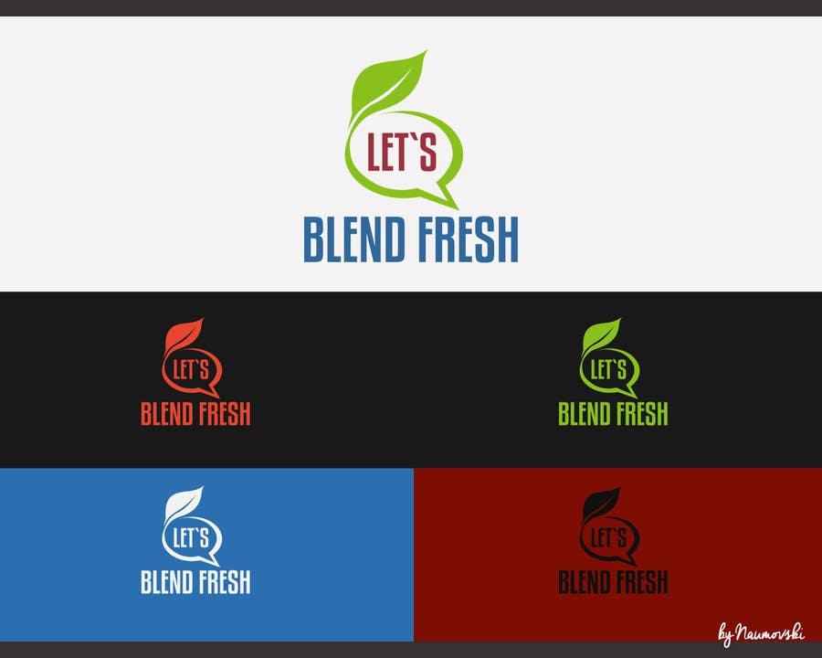 Bài tham dự cuộc thi #                                        29                                      cho                                         Redesign a Logo for Let's Blend Fresh